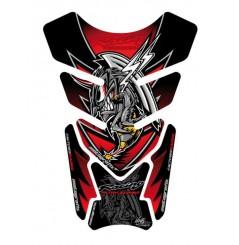 Protection de Réservoir Universel Moto Rouge pour HONDA