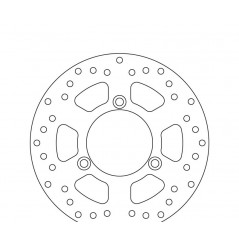 Disque de frein arrière Brembo pour 125 Burgman (06-13)