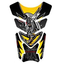 Protection de Réservoir Universel Moto Jaune pour HONDA