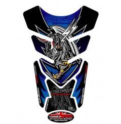 Protection de Réservoir Universel Moto Bleu pour HONDA