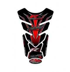 Protection de Réservoir Universel Moto Noir - Rouge pour HONDA