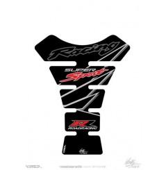 Protection de Réservoir Universel Moto Noir - Gris - Rouge pour HONDA