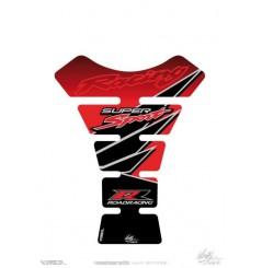 Protection de Réservoir Universel Moto Rouge - Noir pour HONDA