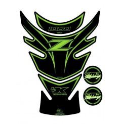 Protection de Réservoir Moto Vert pour KAWASAKI Z 1000 (10-17)
