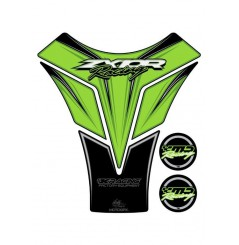 Protection de Réservoir Moto Vert pour KAWASAKI ZX-10R (10-17)