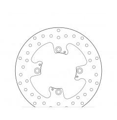 Disque de frein arrière Brembo pour Tiger 800 XC et XR (15-16) 1050 Sprint ST ABS (05-10) 1050 Speed Triple ABS (12-16)