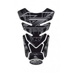 Protection de Réservoir Moto Universel Noir - Gris pour KAWASAKI