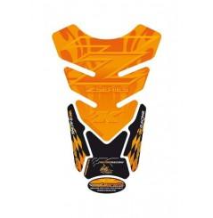 Protection de Réservoir Moto Universel Orange pour KAWASAKI