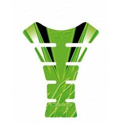 Protection de Réservoir Moto Universel Vert - Noir pour KAWASAKI