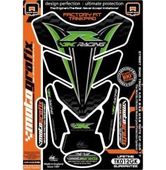 Protection de Réservoir Moto Universel Noir - Vert pour KAWASAKI