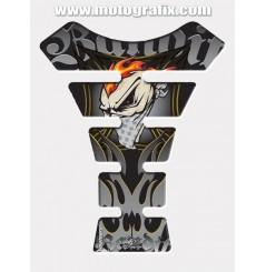 Protection de Réservoir Moto Gris - Noir pour Suzuki Bandit Tous Modèles