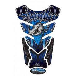Protection de Réservoir Moto Bleu pour Suzuki Bandit Tous Modèles