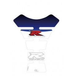 Protection de Réservoir Moto Universel Blanc - Bleu pour SUZUKI