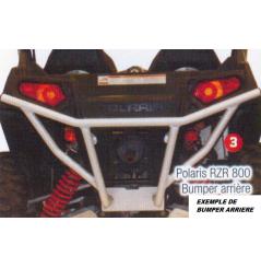Bumper Arrière ART pour SSV Polaris RZR 800 (08-15)
