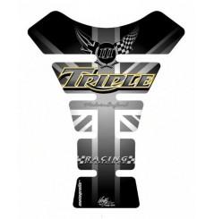 Protection de Réservoir Moto Universel Noir pour TRIUMPH