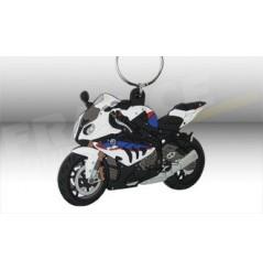 Porte-Clefs 3D BMW S 1000 RR Bleu / Blanc / Rouge