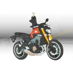 Porte-Clefs 3D YAMAHA MT-09 Orange