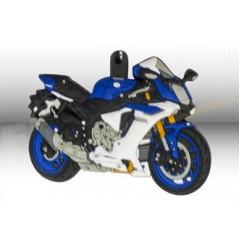 Porte-Clefs 3D YAMAHA YZF R1 Bleu / Blanc
