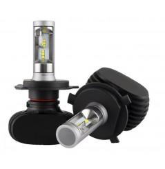 Ampoules LED Moto H4 55W Sans Ventilateur NEXT TECH