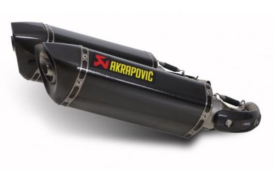 Silencieux Carbone Akrapovic Homologué Ducati Monster 696 08/13
