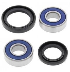 Kit Roulement de roue Avant moto All Balls Eliminator250 (88-94) EX250 (01-06) ER5 (97-05) GPZ500 (87-93)