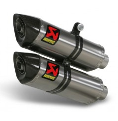Silencieux Titane Akrapovic Homologué Ducati Monster Streetfighter / S 1100 09/12
