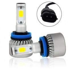 Ampoules LED Ventilées 360° Moto H11 75W Compactes NEXT TECH