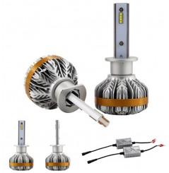Ampoules LED Ventilées 360° Moto H1 55W Canbus NEXT TECH
