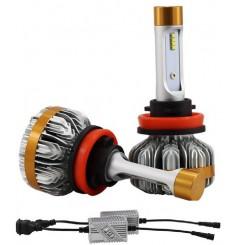 Ampoules LED Ventilées 360° Moto H11 55W Canbus NEXT TECH