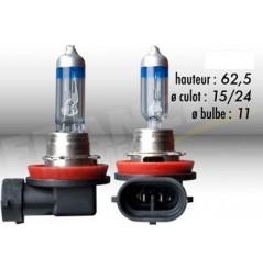 Ampoule H11 12V-55W RING Xenon Max +100% pour Moto-Quad-Scooter