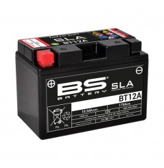 Batterie Moto BS BT12A-SLA (YT12A-BS - CT12A-BS)
