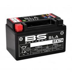 Batterie Moto BS BTX7A-SLA (YTX7A-BS)