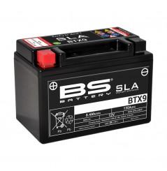 Batterie Moto BS BTX9-SLA (YTX9-BS)