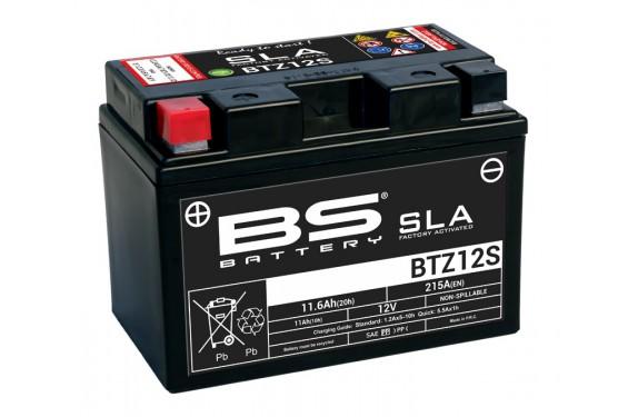 Batterie Moto BS BTZ12S SLA (YTZ12S / CTZ12S)