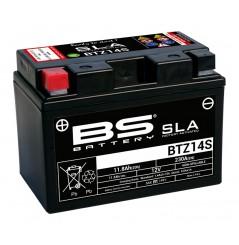 Batterie Moto BS BTZ14S SLA (YTZ14S / CTZ14S)