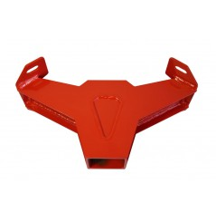 Support D'Attelage Rouge DRAGONFIRE pour SSV Can Am MAVERICK 1000 (13-17)