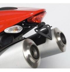 Support de plaque Moto R&G pour Monster 696 (08-14) Monster 796 (11-13) Monster 1100 (09-13)