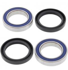 Kit Roulement Roue Avant + Cache Poussière All Balls pour Beta RR350 (11-18) RR390 (15-18)