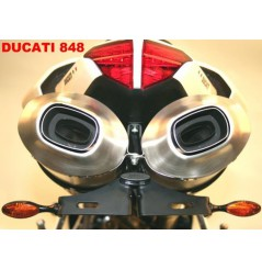 Support de plaque R&G Ducati 848 1098 1198
