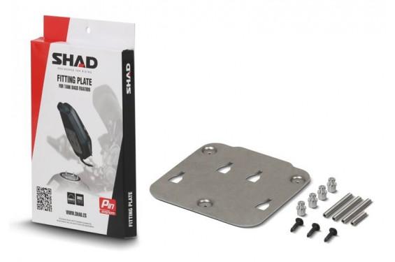 Support sacoche réservoir SHAD PIN Système pour MT-03 (06-20)