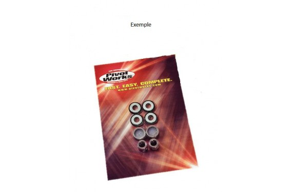 Kit Roulement Amortisseur Moto Pivot Works pour EXC-F250 (07-20) EXC-F350 (12-20)