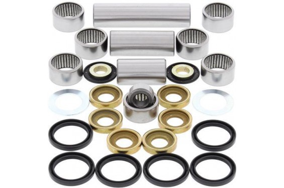 Kit Roulement Biellettes Moto All Balls pour Honda CR125 R (00-07) CRF250 R (04-09) CRF250 X (04-18) CRF450 R (02-08)