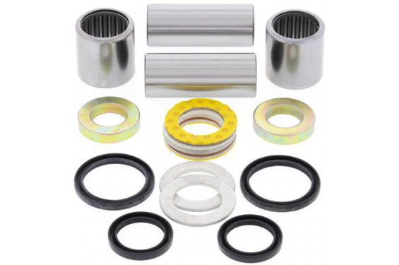Kit Roulement Bras Oscillant Moto All Balls pour Honda CRF250 R (10-13) CRF450 R (05-12) CRF450 X (05-17)