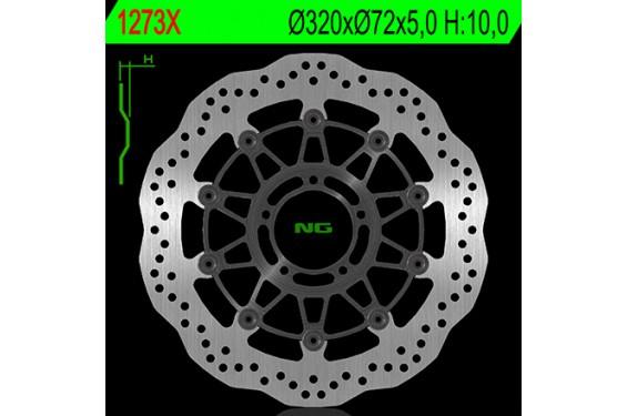 Disque de frein Wave avant NG Brake Ducati Hypermotard et Hyperstrada 821 (13-15) Hyperstrada et Hypermotard 939 (16-18)