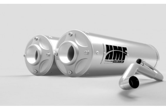 Ligne Complète Double Sortie HMF Pour Can Am Maverick 1000 Turbo (15-17)
