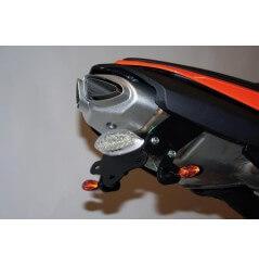 Support de plaque Moto R&G pour Kawasaki Ninja ZX6R (07-08)