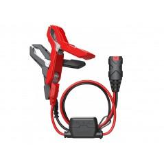 Câble Pinces Crocodile 60cm pour Chargeur de Batterie NOCO GENIUS