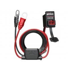 Câble avec Indicateur de Charge Tableau de Bord pour Chargeur de Batterie NOCO GENIUS