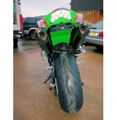 Support de plaque R&G Kawasaki ZX 10 R 06/07