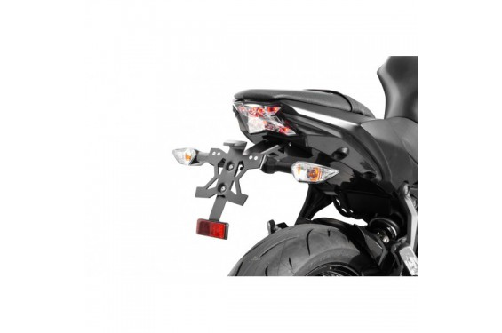 Support de plaque Top Block pour Ninja 650 (17-18)